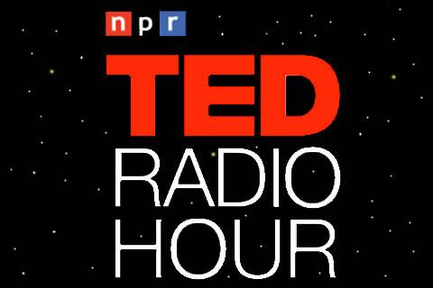 Ted Radio Hour logo in Space