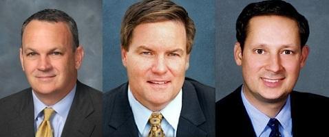 Rep. Richard Corcoran, Sen. Aaron Bean and Sen. Joe Negron (L-to-R)