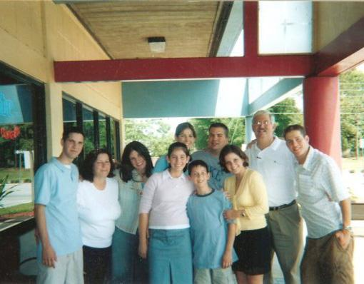 The Levinson family including Robert Levinson years ago before he disappeared in Iran.