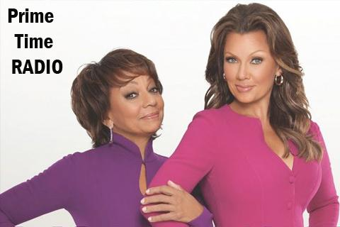 vanessa williams and Helen Williams and the Prime Time Radio logo