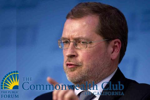 Grover Norquist and Common Wealthclub of California logo