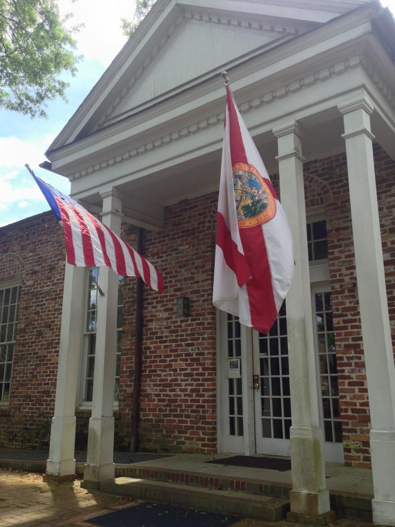 Former Florida Gov. John Martin's house sits on the de Soto site