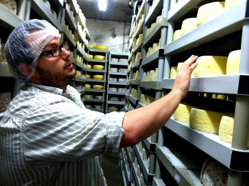 Mat Wiley with Sweet Grass Dairy talks about the variety of cheeses in production right now.