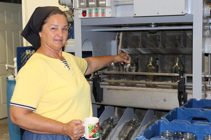 Mary Lou Wesselhoeft runs Ocheesee Creamery