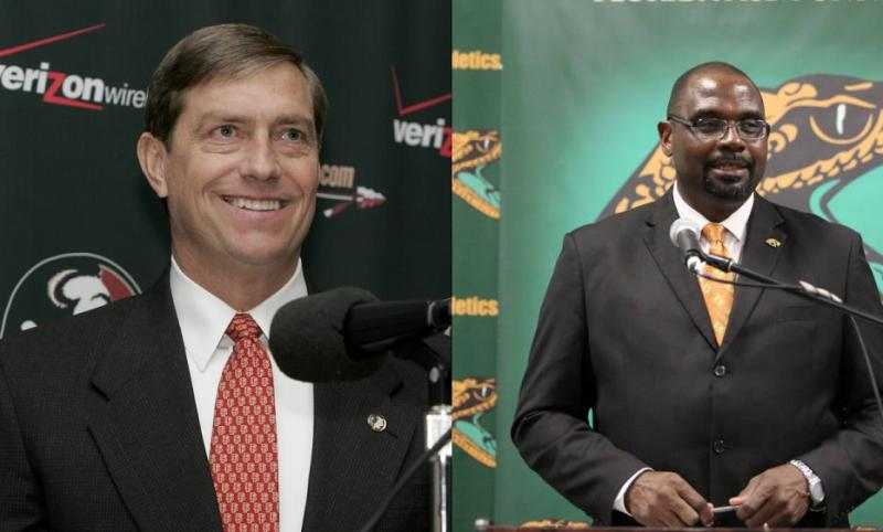 Randy Spetman (L) and Derek Horne (R) both out as athletics director