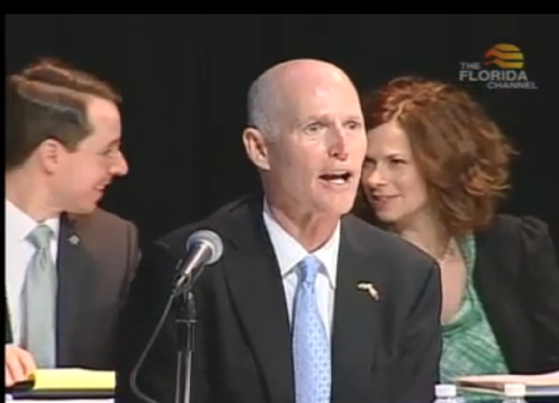 Governor Rick Scott says navigators have too much access to sensitive information.