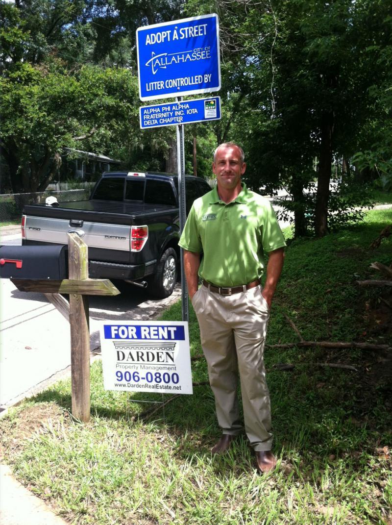 Local real estate investor Patrick Darden