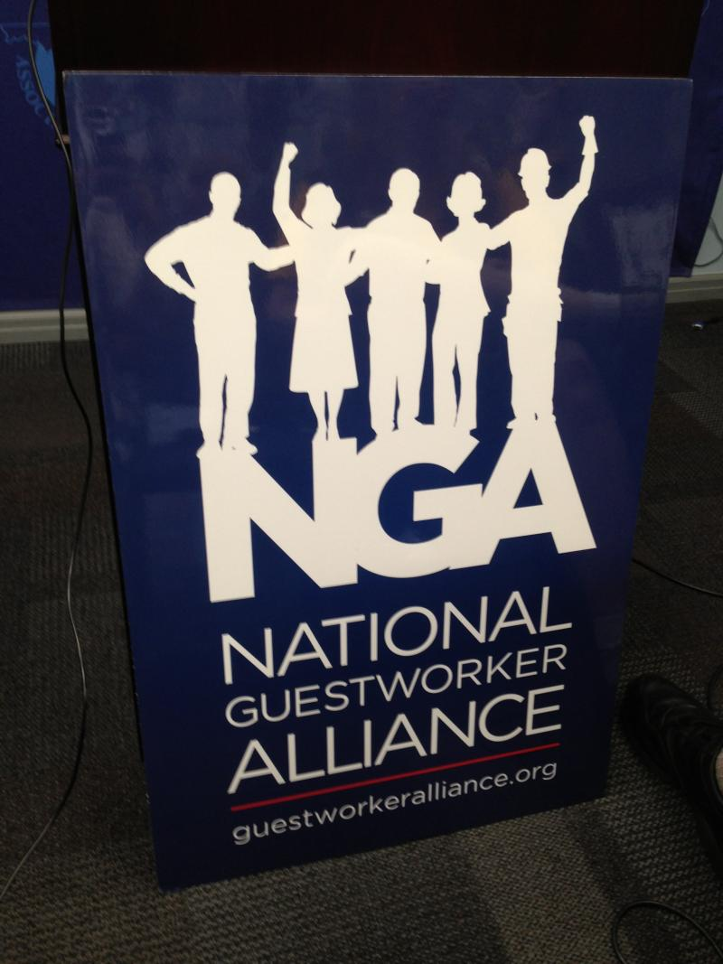 The National Guestworker Alliance is organizing the Mr. Clean workers.