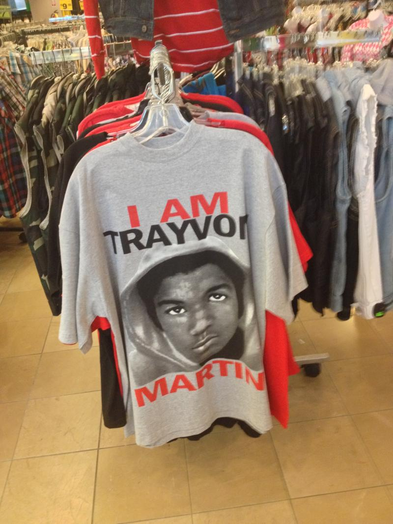 Some say selling Trayvon Martin merchandise is profiting from tragedy.