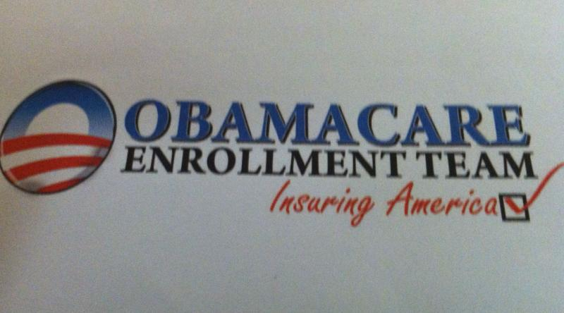 Logo of the Obamacare Enrollment Team