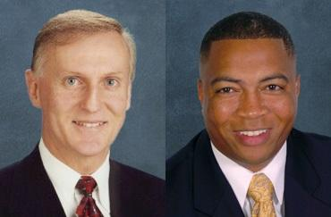 Altamonte Springs Republican Senator David Simmons (left) and Senate Democratic Leader Chris Smith (right) have filed two similar bills that makes changes to Florida's Stand Your Ground.