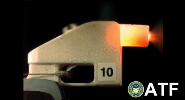 The Bureau of Alcohol, Tobacco, Firearms and Explosives (ATF) tested the use of 3-D printing technology in the making of firearms. This test focused on Cody Wilson's Liberator design.