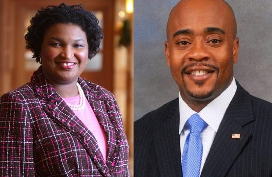 Georgia House Minority Leader Stacey Abrams and Representative Alan Williams (D-Tallahassee) attended a summit in Washington D.C. Wednesday. Abrams also moderated the summit.