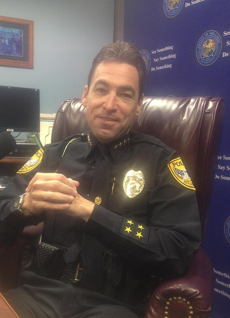 Tallahassee Police Chief Mike DeLeo