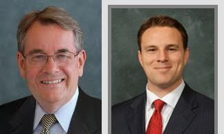 Senate President Don Gaetz (left) and House Speaker Will Weatherford (right)