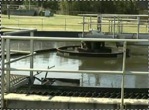 A wastewater treatment facility in North Florida.