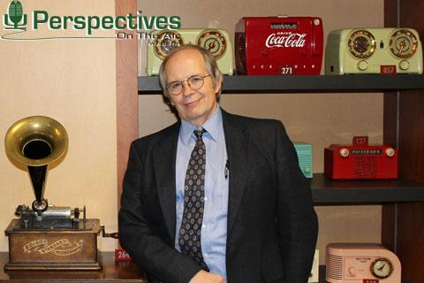Perspectives logo and Tom Flanigan