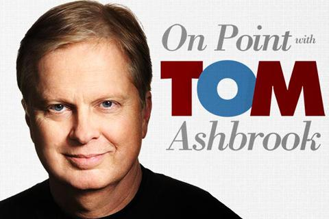 On Point logo and Tom Ashbrook