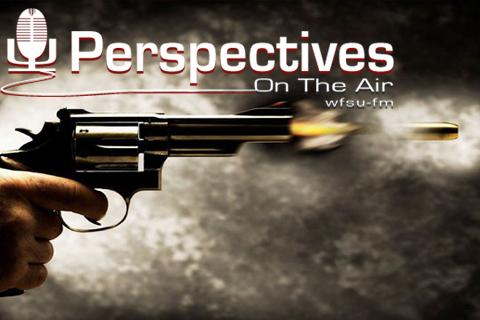 shooting gun and Perspectives logo