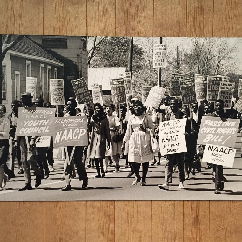 The Museum of Florida History has a civil rights exhibit up until April 5, 2015.