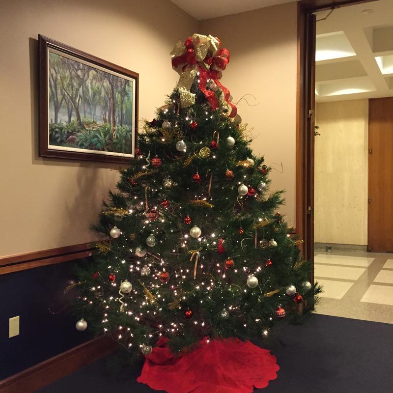 Agriculture Commissioner Putnam's Tree