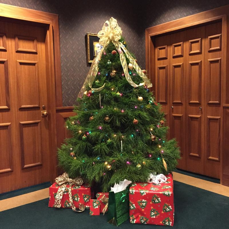 CFO Jeff Atwater's Tree