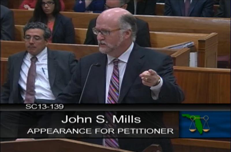 John Mills represents the Soffer family.