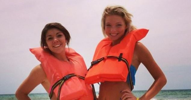 Alexis Fairchild (left) and Sidney Good (right) are the two Indiana teens who were seriously injured during a parasailing crash about two years ago and helped inspire a new Florida law regulating the industry.