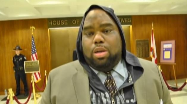Sen. Dwight Bullard (D-Miami), a Representative at the time in 2012, talking about showing solidarity for Trayvon Martin by wearing a hoodie.