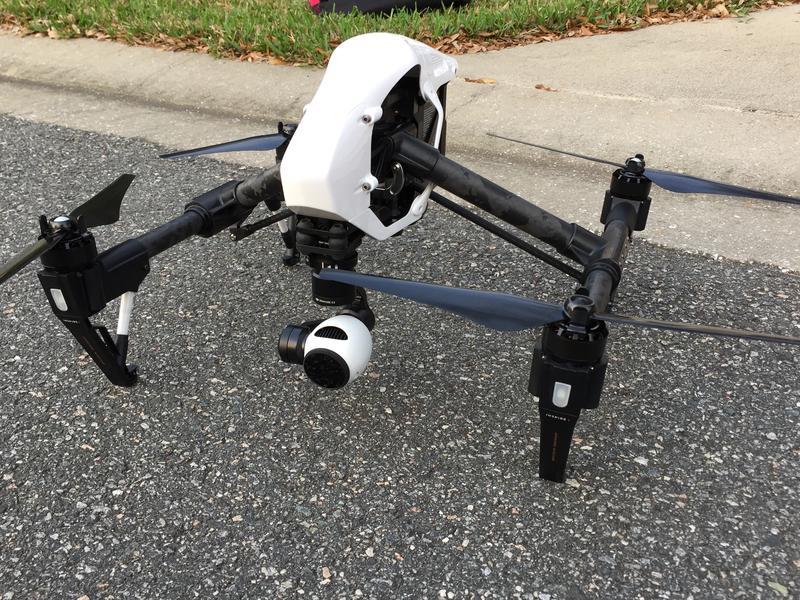 Charles Lockwood's drone.