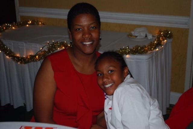 Toni Richardson and daughter, Taylor