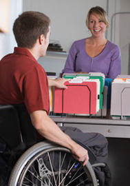 The Division of Vocational Rehabilitation is a federal-state partnership program that helps people with disabilities find and keep jobs.