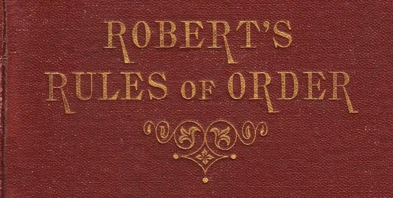 Procedural rules in the Florida House and Senate are based in part on Robert's Rules of Order.