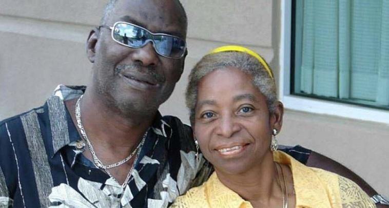 Lena Young Green smiles in a picture with her late husband, Arthur Green Jr., who died while in police custody during a diabetic episode.