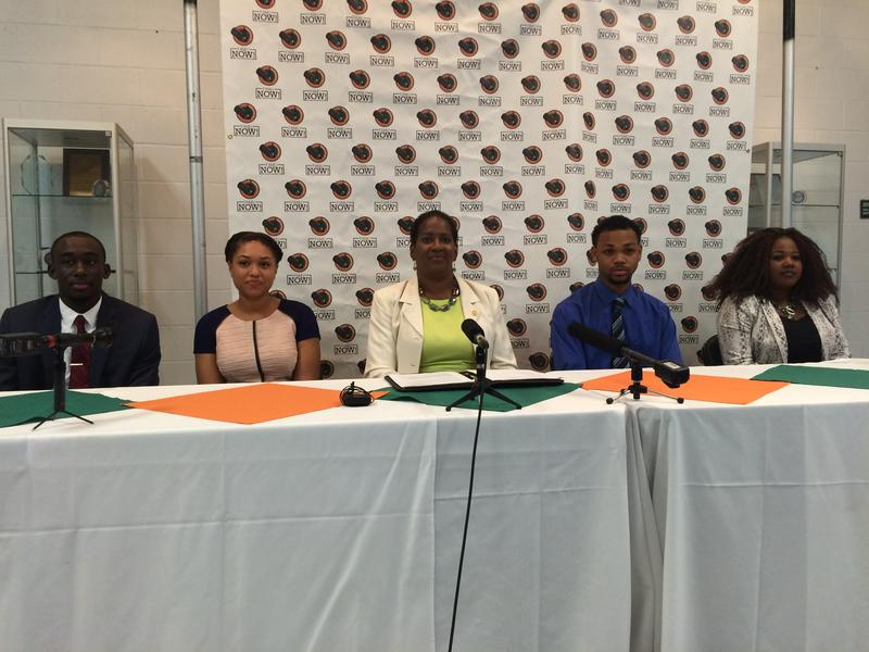 Florida A&M University holds a press conference for the launch of FAMU NOW