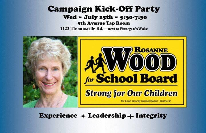 Former SAIL High School Principal Rosanne Wood is running for Leon School Board, District 2.