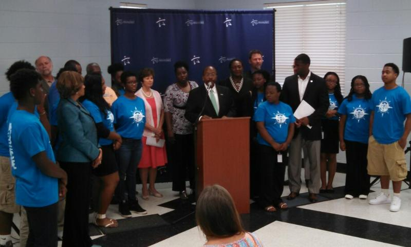 City Commissioner Curtis Richardson announces new plans for the Southside.