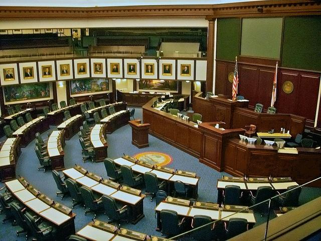 The Florida House Chamber