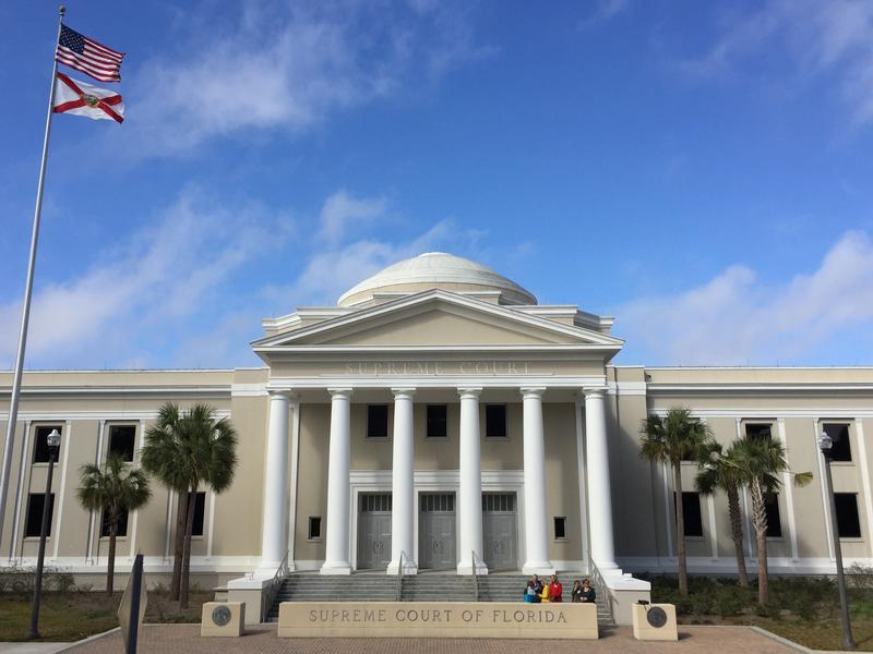Florida's Supreme Court is deliberating over how to proceed with the state's congressional map.