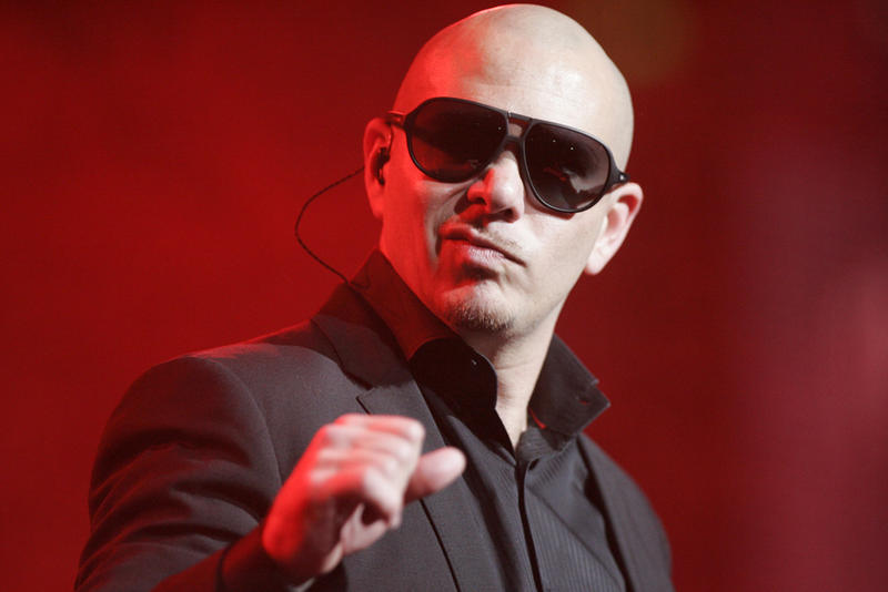 Mr. Worldwide himself
