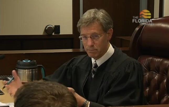 Judge Terry Lewis questioning Jason Poreda.