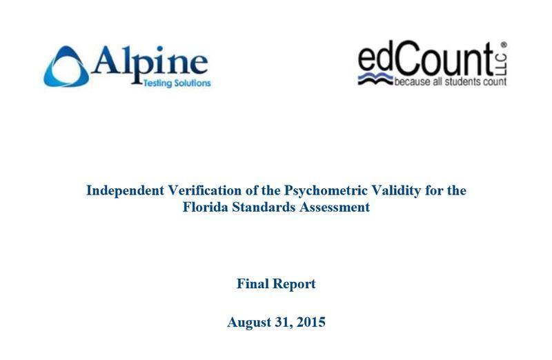 Fsa validity study