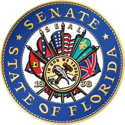 The current seal for Florida's Senate.