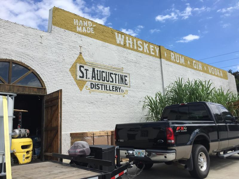 St. Augustine Distillery is one of a handful of craft distillers in the state.