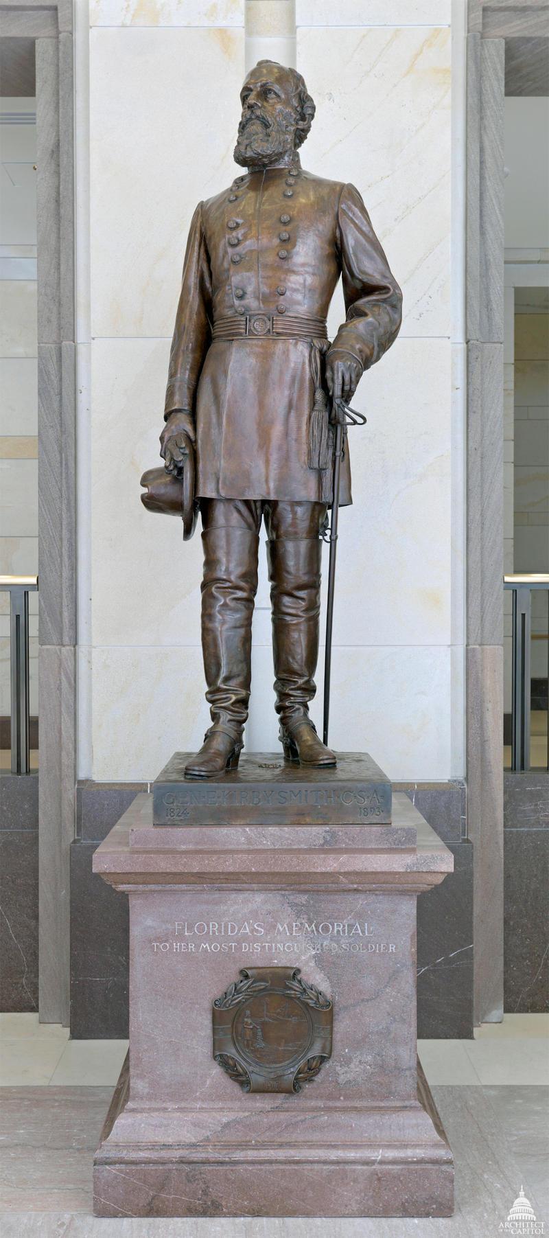 Florida's statue of Edmund Kirby Smith in Washington D.C.