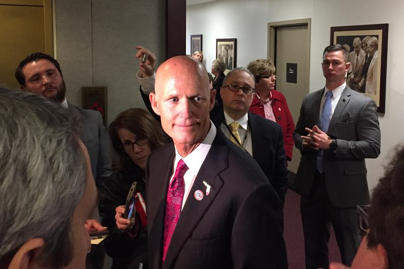 Governor Rick Scott.