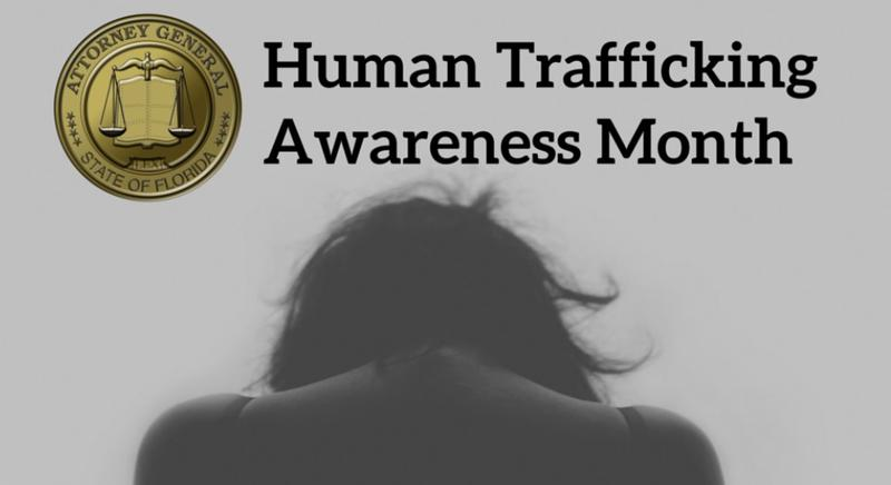Officials Hope Human Trafficking Awareness Month Will Make