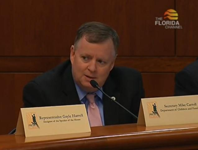 Florida Department of Children and Families Secretary Mike Carroll