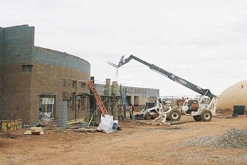 Construction of Leupp School