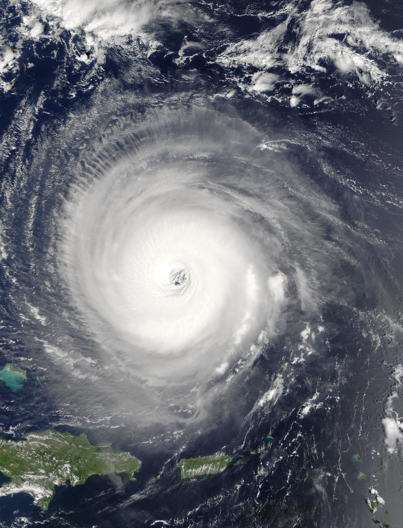 Hurricane Isabel in 2003
